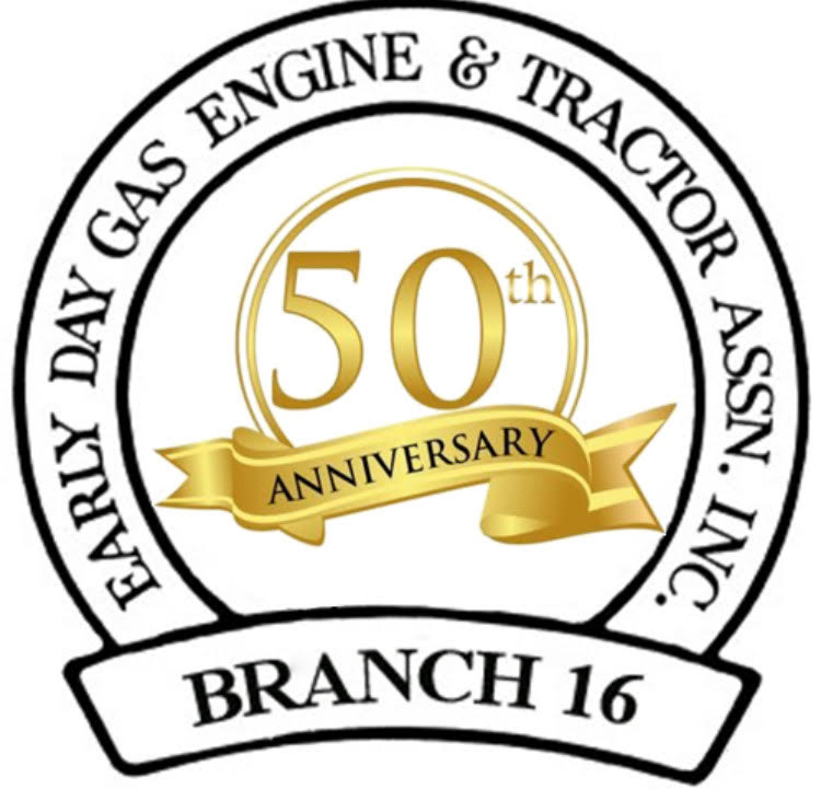 Congratulations to SWMO Early Day Gas Engine & Tractor Association Branch 16 as they celebrate 50 years! Branch 16 was established November 1971. This is a great milestone and they're still going strong!